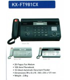 FAX PANASONIC KX-FT981CX